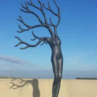 Iris Le Rütte - daphne in de wind