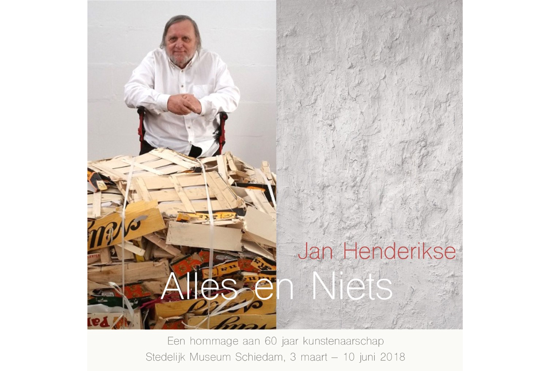 Jan Henderikse - Stedelijk Museum - Kunstadvies Hanneke Janssen
