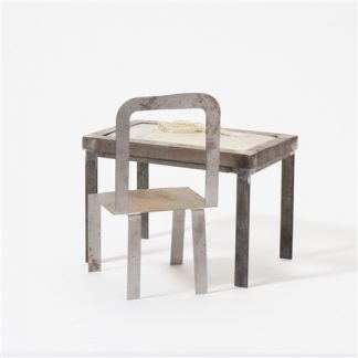 klaas-gubbels-and-shinkichi-tajiri-tableknot-with-chair-set-of-2 Kunstadvies Hanneke Janssen