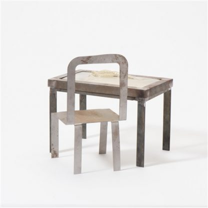 klaas-gubbels-and-shinkichi-tajiri-tableknot-with-chair-set-of-2 Kunstadvies Hanneke Janssen