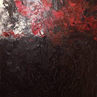 Armando - Landschaft 29.02.01 - Dit unieke schilderij te koop bij KUNSTADVIES Hanneke Janssen | Eindhoven - Armando Landschaft Kunstadvies Hanneke Janssen