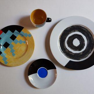 Kees de Goede / Servies - Kunstadvies Hanneke Janssen Eindhovenn