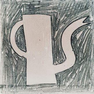 Klaas Gubbels - Koffiekan - Tegel - Kunstadvies