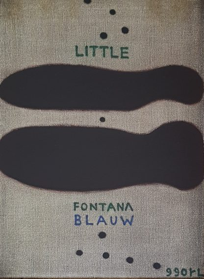 Reinier Lucassen - Little Fontana - Kunstadvies Hanneke Janssen