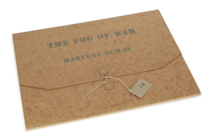 Marlene Dumas - Fog of war -Kunstadvies Hanneke Janssen