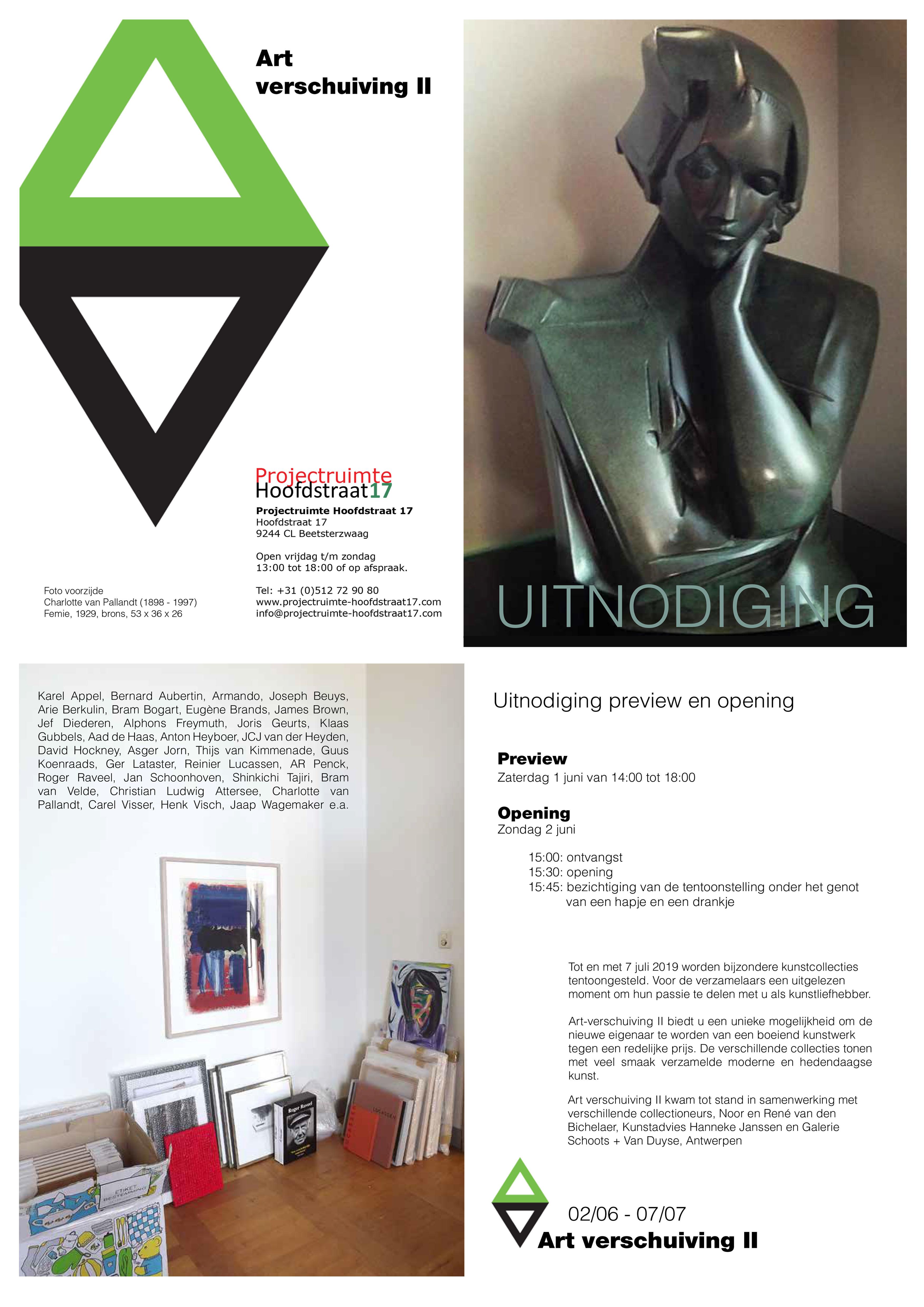 Art verschuiving / Beetsterzwaag - Kunstadvies Hanneke Janssen