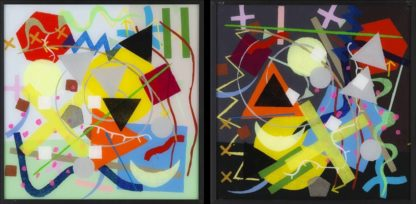 Paul Panhuysen - Kandinsky Systematic series - Day & Night - Kunstadvies Hanneke Janssen