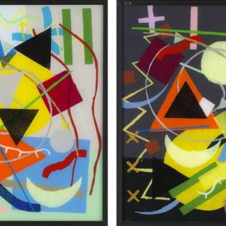 Paul Panhuysen - Kandinsky Systematic - Day & Night - Kunstadvies Hanneke Janssen