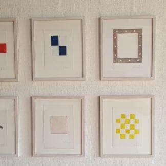 JCJ van der Heyden - Monotypes (9x) - Kunstadvies Hanneke Janssen