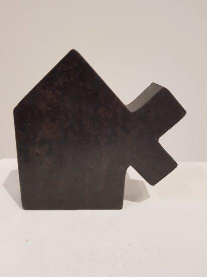 Arie Berkulin, Staal object - Kunstadvies Hanneke Janssen