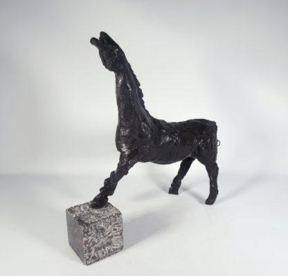 Ger Lataster - Paard (brons) - Kunstadvies Hanneke Janssen
