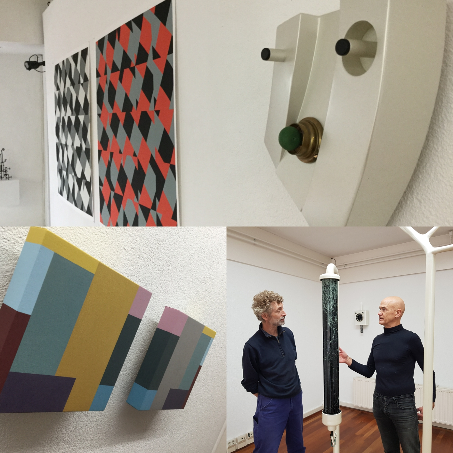 Tentoonstelling OVER EN WEER - Kunstadvies Hanneke Janssen