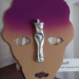 Jürgen Brodwolf - Luxe editie: Kopf violett - Kunstadvies Hanneke Janssen