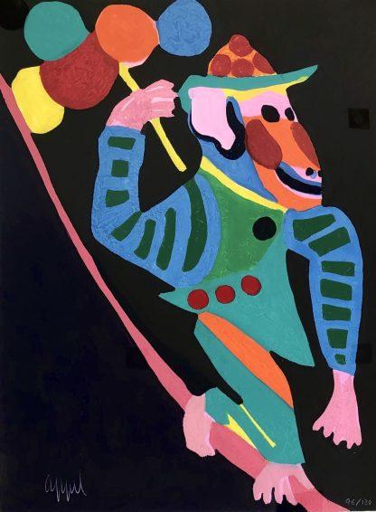 Karel Appel - Circus monkey - Kunstadvies Hanneke Janssen