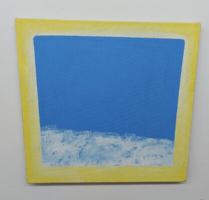 J.C.J. Vanderheyden - Horizon in yellow frame - Kunstadvies Hanneke Janssen